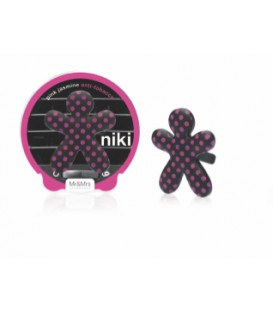 Diffuseur pour voiture Niki pink jasmine, Mr and Mrs Fragrance