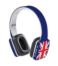 Casque bleu Bluetooth UK