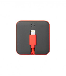 Câble de charge + batterie pour Iphone corail