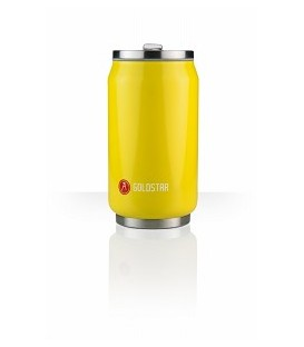 Canette 280mL isotherme jaune brillant Lemon