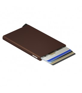 Porte cartes C Brown