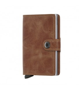 Porte cartes Secrid MV Cognac