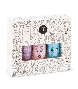 Coffret 3 vernis Party