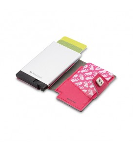 Porte-cartes We Positive fushia