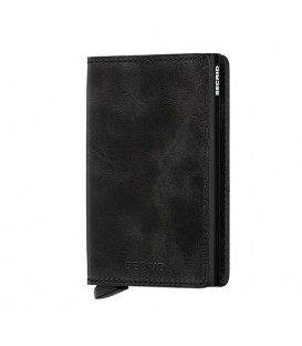 Porte cartes Secrid SV Noir Black