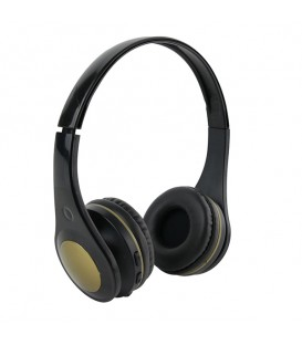 Casque audio sans fil Electron, noir/or