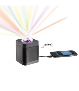 Haut-parleur disco compatible Bluetooth