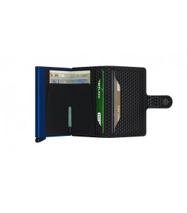 Porte cartes Secrid MCU Black Blue