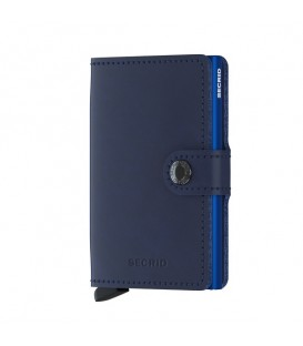 Porte cartes Secrid MO Navy Blue
