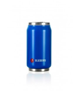 "Pull Can'it Canette 280ml isotherme Bleu Brillant ""Blueberry"""