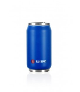 "Pull Can'it Canette 280ml isotherme Bleu Mat ""Blueberry"""