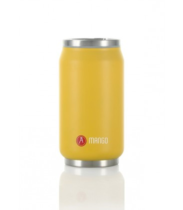 "Pull Can'it Canette 280ml isotherme Jaune Mat ""Mango"""