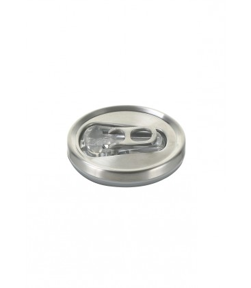 """Pull Can'it Canette 280ml isotherme Argent Brillant """"Silverstar"""""""