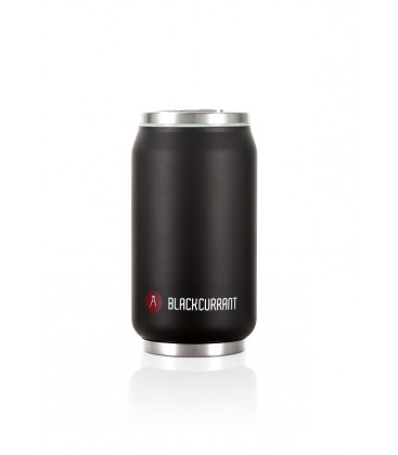 """Pull Can'it Canette 280ml isotherme Noir Mat """"Blackcurrant"""""""