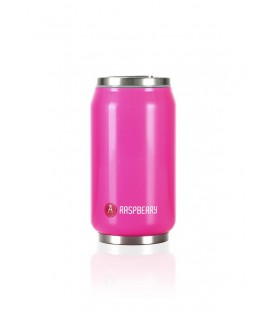 "Pull Can'it Canette 280ml isotherme Rose Brillant ""Raspberry"""