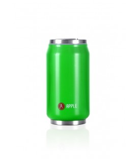"Pull Can'it Canette 280ml isotherme Vert Brillant ""Apple"""