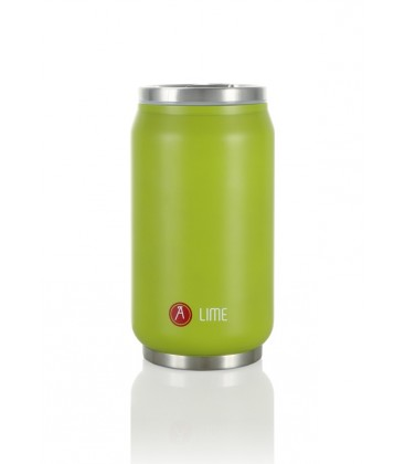 "Pull Can'it Canette 280ml isotherme Vert Mat ""Lime"""