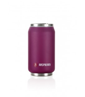 "Pull Can'it Canette 280ml isotherme Violet Mat ""Raspberry"""