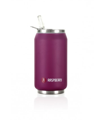 """Pull Can'it Canette 280ml isotherme Violet Mat """"Raspberry"""""""