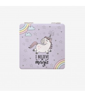 "Miroir de poche ""I Believe In Magic"""