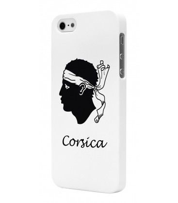 Coque corsica blanche iPhone 5