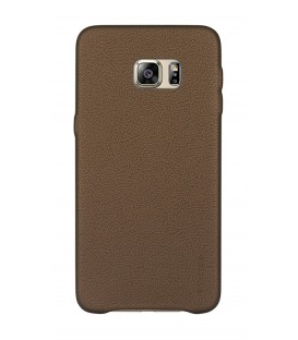 Coque noble series marron Samsung Galaxy S6 Edge+