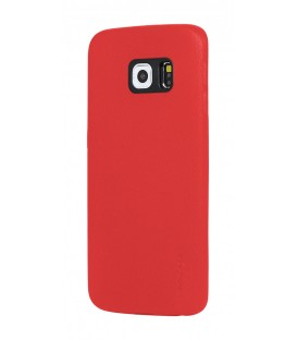 Coque noble series rouge Samsung Galaxy S6 Edge