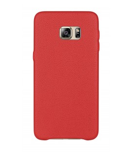 Coque noble series rouge Samsung Galaxy S6 Edge +