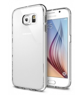 Coque plexiglass contour transparent Samsung Galaxy S6