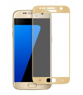 Protection verre trempé gold Galaxy S7